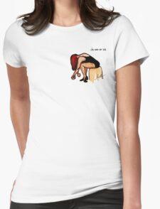 "Ballet - ""28"" Womens Fitted T-Shirt"