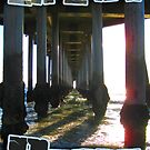 Life is a Beach series #2 Huntington Beach Ca. Pier Photo by dustyvinylstore