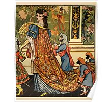 Beauty and the Beast by Walter Crane 1875 18 -  Poster