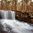 The Top of Dutchman Falls by Gene Walls
