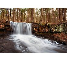 The Top of Dutchman Falls Photographic Print