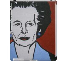 Margaret Thatcher iPad Case/Skin
