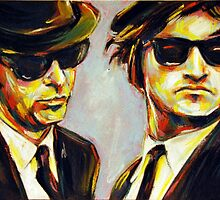 blues brothers portrait by benova