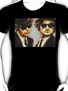 blues brothers portrait T-Shirt