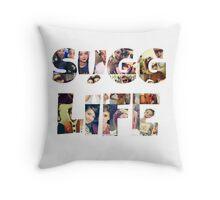 Sugg Life Throw Pillow