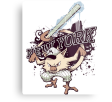 New York Mankeys FREEZE Metal Print