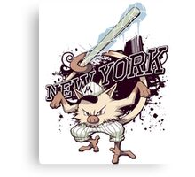 New York Mankeys FREEZE Canvas Print
