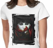 Masquerade Goth T.Shirt Womens Fitted T-Shirt