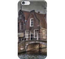 Delft - on a cloudy day iPhone Case/Skin