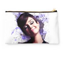 Audrey Hepburn watercolor digital Studio Pouch