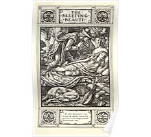 Household Storeis from the Collection of the Brothers Grimm by Lucy Crane with Illustrations by Walter Crane 1882 12 - The Sleeping Beauty Poster