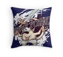 New York Mankeys FREEZE Throw Pillow