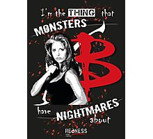 BUFFY: NIGHTMARES Photographic Print