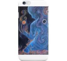 Jessica Kropveld's Purple Lady Acrylic on Canvas iPhone Case/Skin