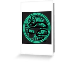 Alchemy Circle 0ne - Dragon Greeting Card