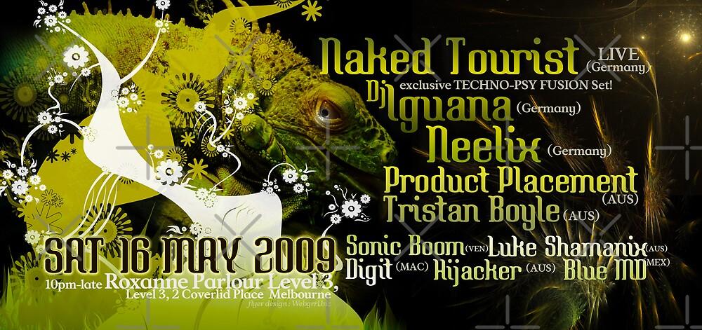 Naked Tourist & Neelix | 16 May 2009 | Melbourne by webgrrl