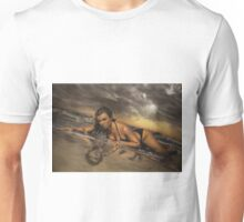 Airbrush Portrait - Nell McAndrew Unisex T-Shirt