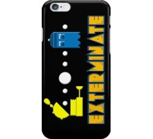 PAC DALEK iPhone Case/Skin