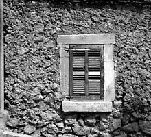 Shuttered Window, Pollença by Matthew Walters