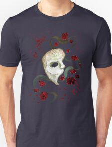 Phantom of the Opera Mask and Roses Unisex T-Shirt