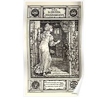 Household Storeis from the Collection of the Brothers Grimm by Lucy Crane with Illustrations by Walter Crane 1882 204 - The Robber Bridegroom Poster