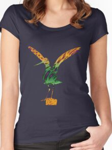 Colourful Godwit Women's Fitted Scoop T-Shirt