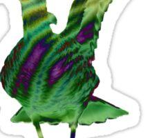 Colourful Godwit Sticker