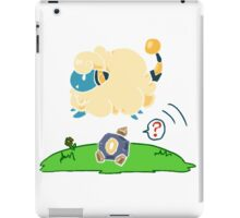 Mareep and Roggenrola iPad Case/Skin