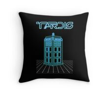 Retro Arcade Film Box  Throw Pillow