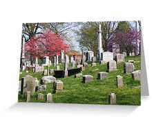 Old Gray Cemetery Greeting Card
