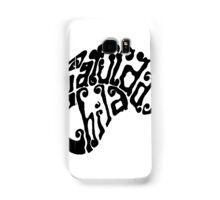 Saturday's Child Logo in black Samsung Galaxy Case/Skin