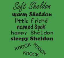 Soft Sheldon, Warm Sheldon by poppyflower