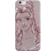 Toned Paper Belle iPhone Case/Skin