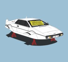 1976 Lotus Esprit - Slight Water Damage Kids Clothes