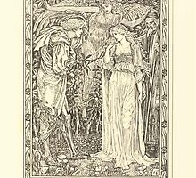 Eight illustrations to Shakespeare's Tempest by Walter Crane 1894 29 - Ferdinand - Most Sure the Goddess on Whom These Airs Attend by wetdryvac