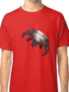 Blown Through Shield  Classic T-Shirt