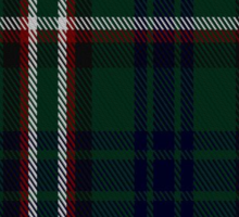 00545 Blackrock (Symmetrical) Tartan  Sticker