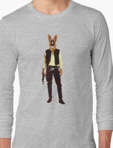 Han Solo Star Wars Dog Long Sleeve T-Shirt