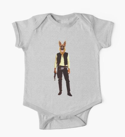Han Solo Star Wars Dog One Piece - Short Sleeve