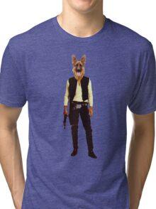 Han Solo Star Wars Dog Tri-blend T-Shirt