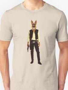 Han Solo Star Wars Dog T-Shirt