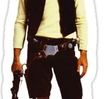 Star Wars Han Solo Hottest dog in empire Sticker