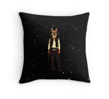 Han Solo Hottest dog in empire Throw Pillow