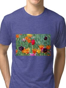 Tulips For Spring Tri-blend T-Shirt