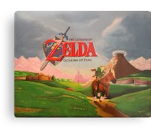 Legend of Zelda: Ocarina of Time Metal Print