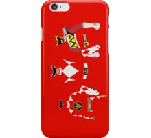Power Rangers Red Dino Rangers iPhone Case iPhone Case/Skin