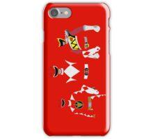 Power Rangers Red Dino Rangers iPhone Case iPhone Case/Skin