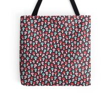 Cute pattern with pink, red and blue mushrooms Tote Bag