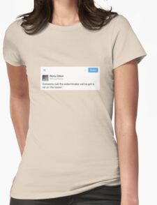 Ricky Dillon Tweet Womens Fitted T-Shirt