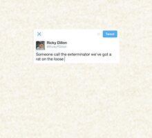 Ricky Dillon Tweet Zipped Hoodie